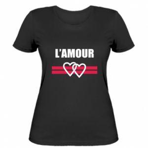Damska koszulka L'amour
