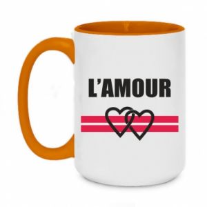 Kubek dwukolorowy 450ml L'amour