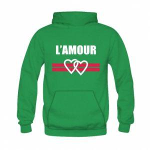 Bluza z kapturem dziecięca L'amour