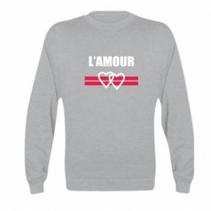 Bluza dziecięca L'amour