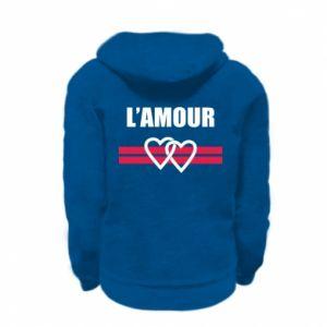 Bluza na zamek dziecięca L'amour