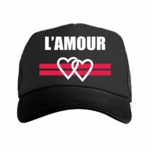 Czapka trucker L'amour