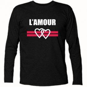 Koszulka z długim rękawem L'amour