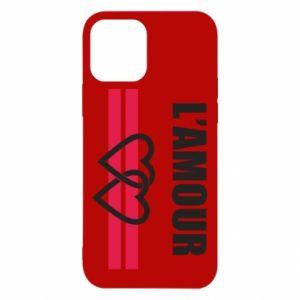 Etui na iPhone 12/12 Pro L'amour