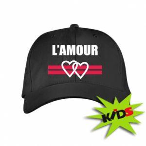 Dziecięca czapeczka z daszkiem L'amour