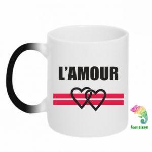 Kubek-kameleon L'amour