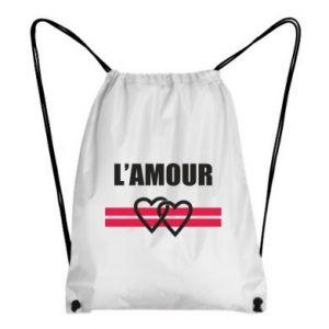 Plecak-worek L'amour
