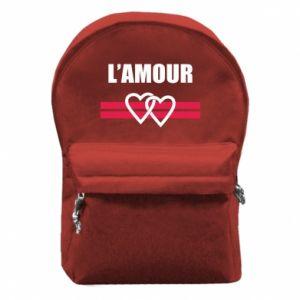 Plecak z przednią kieszenią L'amour