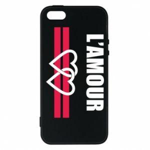 Etui na iPhone 5/5S/SE L'amour