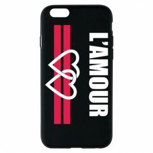 Etui na iPhone 6/6S L'amour