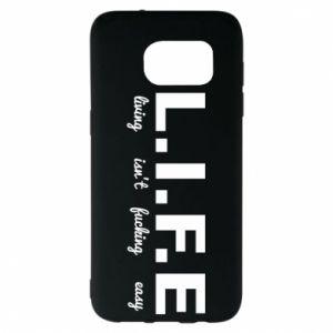Samsung S7 EDGE Case L.I.F.E