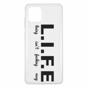 Samsung Note 10 Lite Case L.I.F.E
