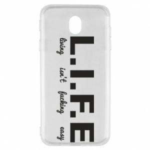 Samsung J7 2017 Case L.I.F.E