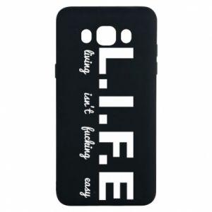 Samsung J7 2016 Case L.I.F.E