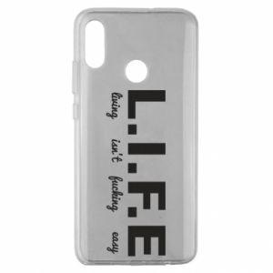 Huawei Honor 10 Lite Case L.I.F.E