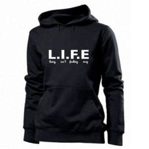 Women's hoodies L.I.F.E