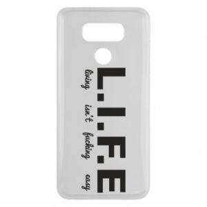 LG G6 Case L.I.F.E