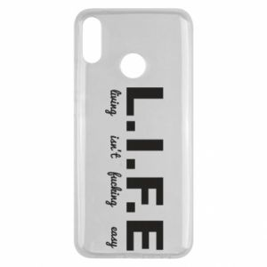 Huawei Y9 2019 Case L.I.F.E