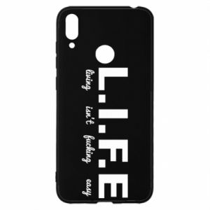 Huawei Y7 2019 Case L.I.F.E