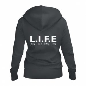 Damska bluza na zamek L.I.F.E