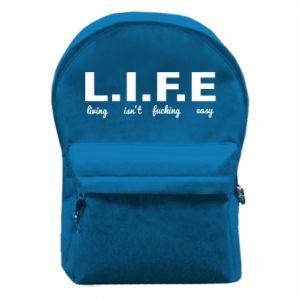 Plecak z przednią kieszenią L.I.F.E