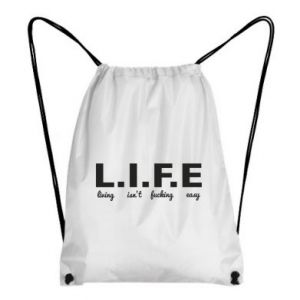 Backpack-bag L.I.F.E