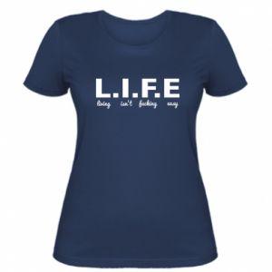 Damska koszulka L.I.F.E