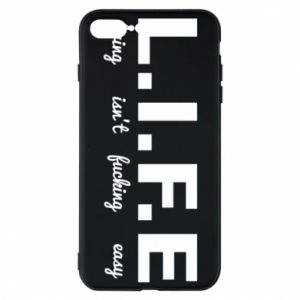 Phone case for iPhone 7 Plus L.I.F.E