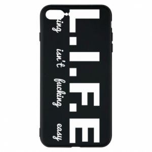 Phone case for iPhone 8 Plus L.I.F.E