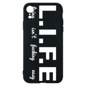 Phone case for iPhone XR L.I.F.E