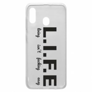 Phone case for Samsung A20 L.I.F.E