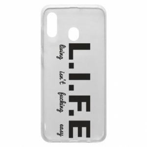 Phone case for Samsung A30 L.I.F.E