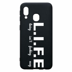 Phone case for Samsung A40 L.I.F.E