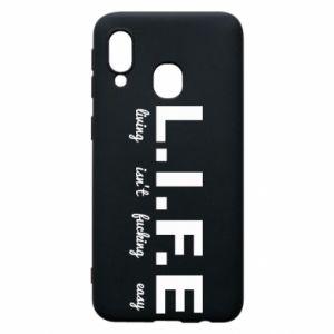 Etui na Samsung A40 L.I.F.E