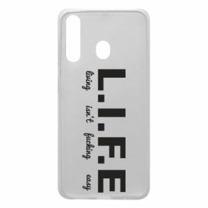 Phone case for Samsung A60 L.I.F.E