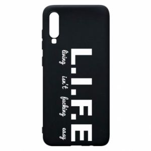 Phone case for Samsung A70 L.I.F.E