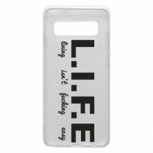 Phone case for Samsung S10 L.I.F.E