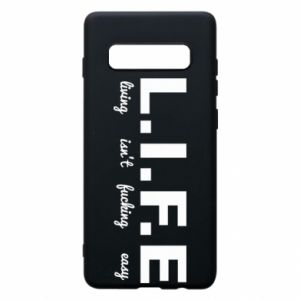 Phone case for Samsung S10+ L.I.F.E