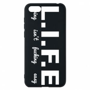Phone case for Huawei Y5 2018 L.I.F.E