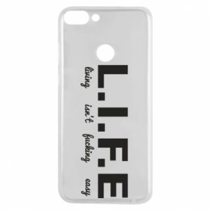 Phone case for Huawei P Smart L.I.F.E