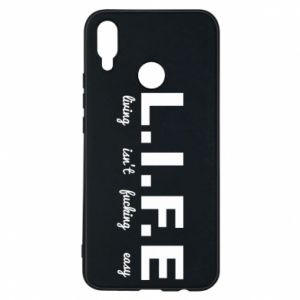 Phone case for Huawei P Smart Plus L.I.F.E