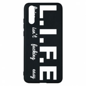 Phone case for Huawei P20 L.I.F.E