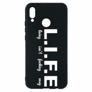 Phone case for Huawei P20 Lite L.I.F.E