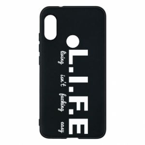 Phone case for Mi A2 Lite L.I.F.E