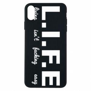 Etui na iPhone Xs Max L.I.F.E