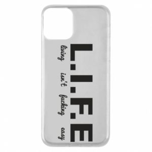 Phone case for iPhone 11 L.I.F.E