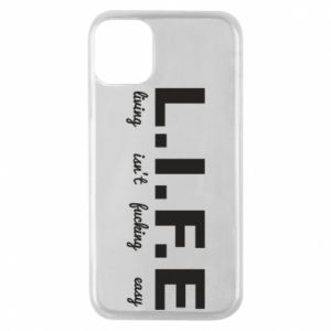 Phone case for iPhone 11 Pro L.I.F.E