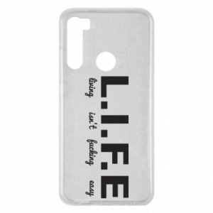 Xiaomi Redmi Note 8 Case L.I.F.E