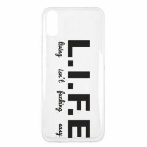Xiaomi Redmi 9a Case L.I.F.E