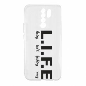 Xiaomi Redmi 9 Case L.I.F.E